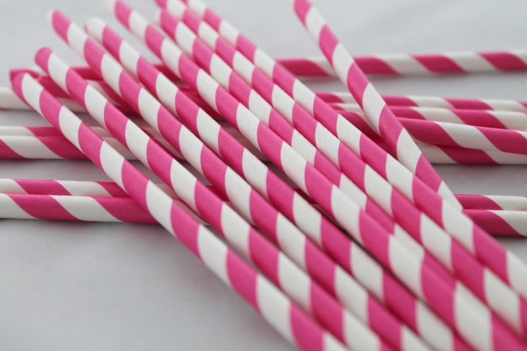 Hot-Pink-Striped-Straws